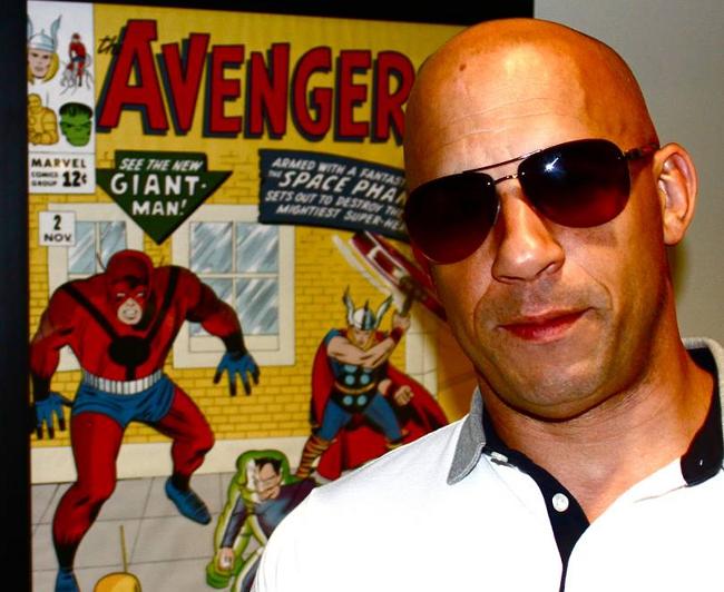 Avengers Vin Diesel