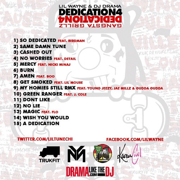 Lil Wayne – Dedication 4 Mixtape