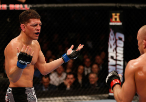 Nick Diaz Is Upset Georges St-Pierre And Michael Bisping Are Fighting Each Other Instead Of Him