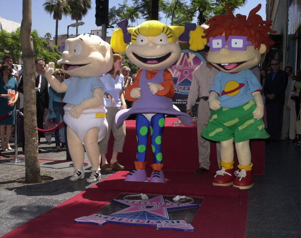 """Rugrats"" on Hollywood''s Walk of Fame"