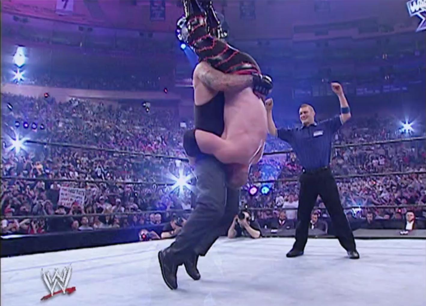Kane vs. dead man Undertaker WrestleMania XX