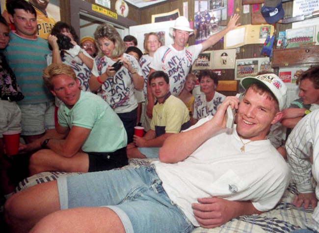 Brett Favre draft day