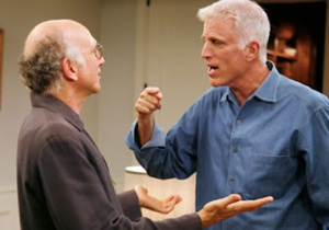 Ted Danson Tells Marc Maron Why Acting With Larry David Is Just Like Going To Dinner With Larry David