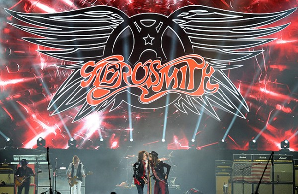 Aerosmith and Slash Perform at the Prudential Center