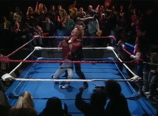 roseanne wrestling