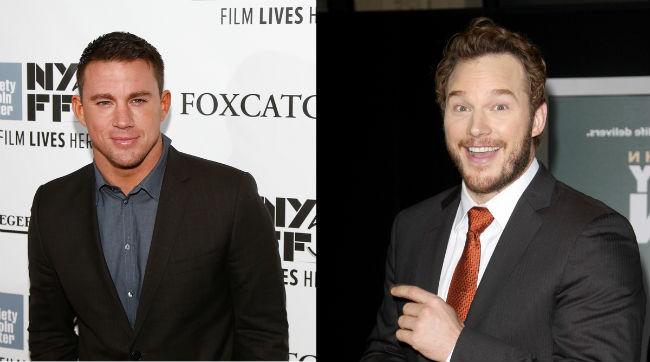 ctatespratt -- Channing Tatum and Chris Pratt