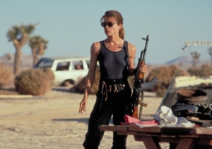 Arnold Schwarzenegger Posted A Selfie With Linda Hamilton On The 'Terminator 6' Set