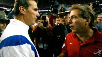 Inside The Long, Storied History Between Nick Saban And Urban Meyer