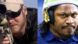 Possibly The Worst Tweet Ever Managed To Tie Marshawn Lynch And 'American Sniper' Together