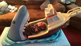 This 'Jaws'-Inspired Baby Bed Is A Slice Of Parenting Win