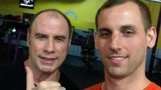 This Guy Ran Into John Travolta At The Gym At 3 AM And Has The Selfie To Prove It