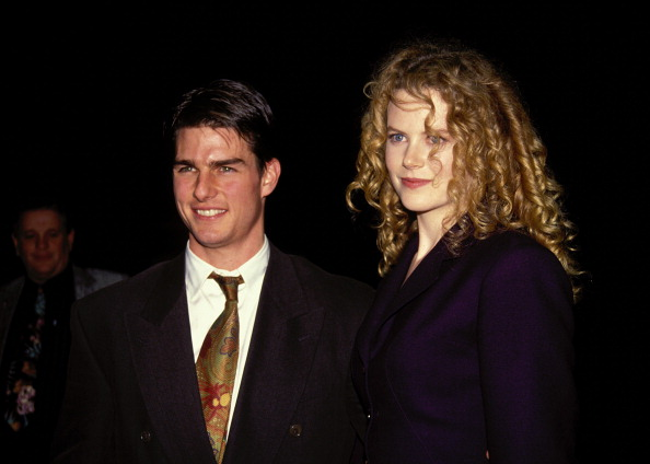 Tom Cruise and Nicole Kidman in Los Angeles in 1992