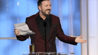 What Ricky Gervais Did Right (And Wrong) Hosting The Golden Globes