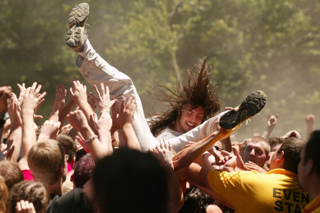 Ozzfest 2002 Opening Day