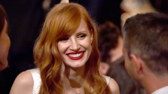 Jessica Chastain Thinks Russell Crowe Has His 'Foot Stuck In His Mouth'