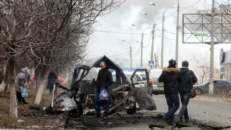 Here's Frightening Dashcam Footage From The Deadly Shelling In Mariupol, Ukraine