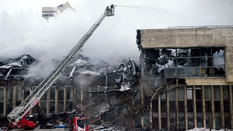 Library Fire In Russia Destroys About One Million Historically Significant Items