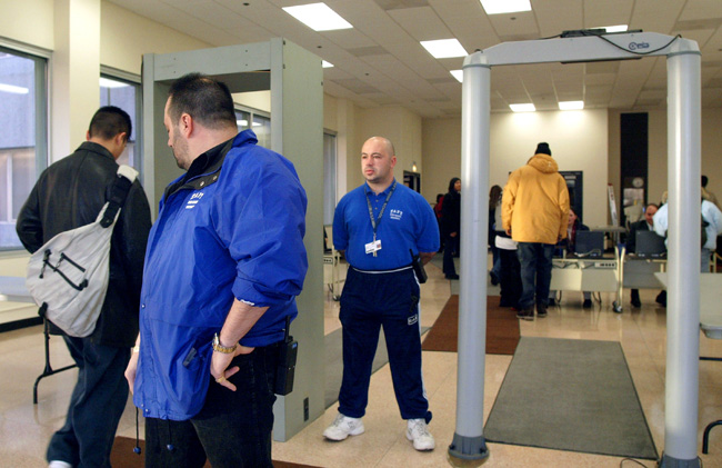Metal Detectors in Chicago High School