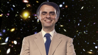 Here's Every Time Carl Sagan Said Millions, Billions, Or Trillions On 'Cosmos' In One Trippy Supercut