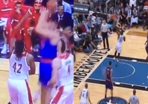 Which Air Ball Was Worse: Shabazz Muhammad's Jam, Or Cole Aldrich's Hook?