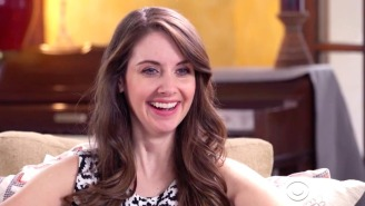 Alison Brie Discussed Her Failed Pilot With Jennifer Lawrence On 'Late Late Show'