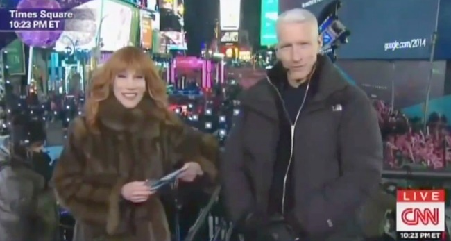 'Piers Who?': Watch Anderson Cooper Burn Piers Morgan During CNN's New Year's Eve Coverage