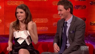 Eddie Redmayne Reenacted His Disastrous 'Hobbit' Audition For Anna Kendrick