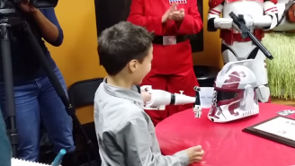 This Seven Year Old Got A Badass 'Stars Wars'-Themed Prosthetic Arm