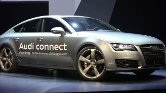Audi's Autonomous A7 Prototype Drove Itself Over 550 Miles To Premiere At This Year's Consumer Electronics Show