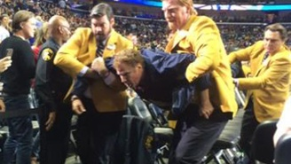 Will Ferrell Was Dragged Out Of A New Orleans Pelicans Game At Halftime, But For A Good Reason