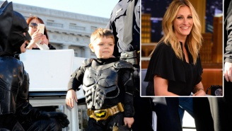 Julia Roberts Is Producing And Starring In A Film About Batkid