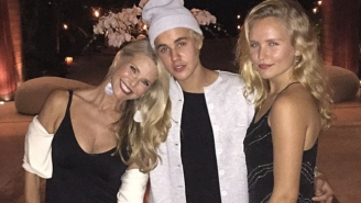 Justin Bieber Hung Out With Christie Brinkley On Vacation Then Broke His Foot Playing Soccer