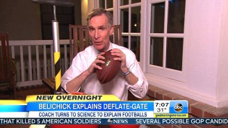 'Good Morning America' Called On Bill Nye The Science Guy To Settle DeflateGate Once And For All