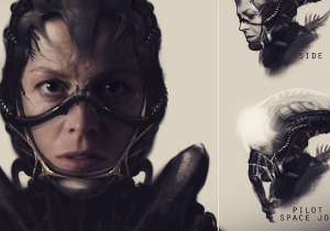 Neill Blomkamp reveals some thrilling concept art for an unmade 'Alien' film
