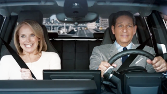 Katie Couric And Bryant Gumbel Reenact Their Internet Gaffe For A Commercial