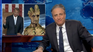 Did John Boehner Hit The Spray Tan Too Hard Or Is He Transforming Into Groot?