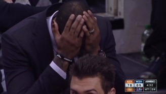 The 2014-2015 Knicks In One Brilliantly Awful Shot