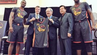 Warriors Unveil Chinese New Year Uniforms (Pics)