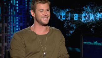 Chris Hemsworth took months to master hacker dialogue in 'Blackhat'