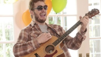 Gibson Sent A Custom Andy Dwyer 'Mouse Rat' Guitar To 'Parks And Rec' Star Chris Pratt