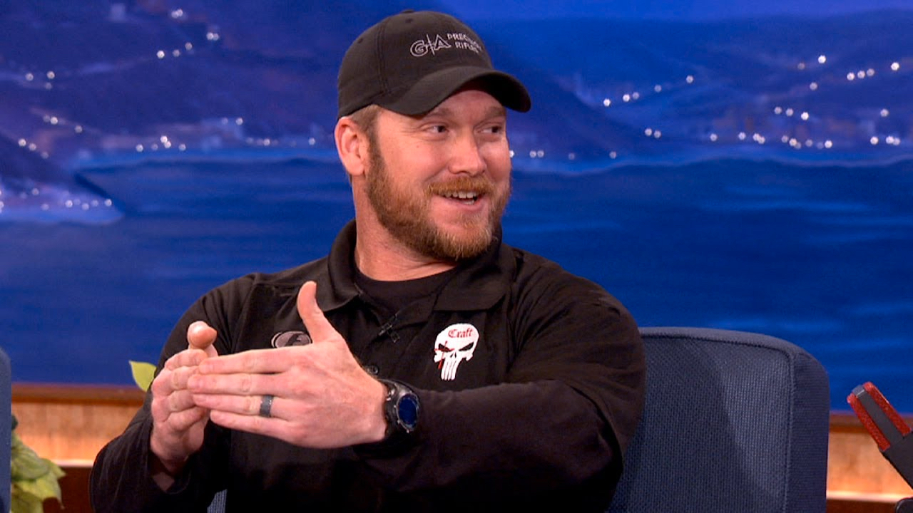 Watch Conan's Charming, Insightful Interview With Chris Kyle