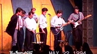 Watch This Farewell Footage Of Stephen Colbert's Last Night At The Second City Theater