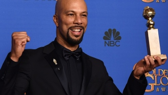 Common on how the Ferguson protests inspired a Golden Globes winner
