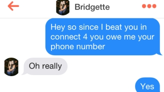 This Guy Got Women's Phone Numbers By Playing Connect Four On Tinder