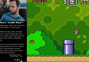 Watch This Expert Gamer Use A Crazy Glitch To Beat 'Super Mario World' In Minutes