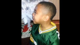 This Little Packers Fan Was Devastated When He Saw The Seahawks' Bicycle-Riding Celebration