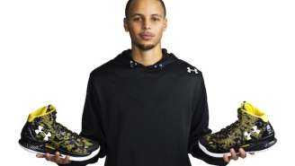 Under Armour Reveals Steph's First Signature Shoe: The Curry One