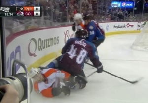 Would You Like To Start 2015 By Looking At A Disgusting Hockey Injury? Of Course You Would.