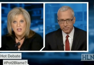 Dr. Drew Had It Out With Nancy Grace Over Her Ridiculous '#Pot2Blame?' Argument