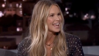 Elle Macpherson Told Jimmy Kimmel Some Fascinating Stories Of Modeling In The '80s